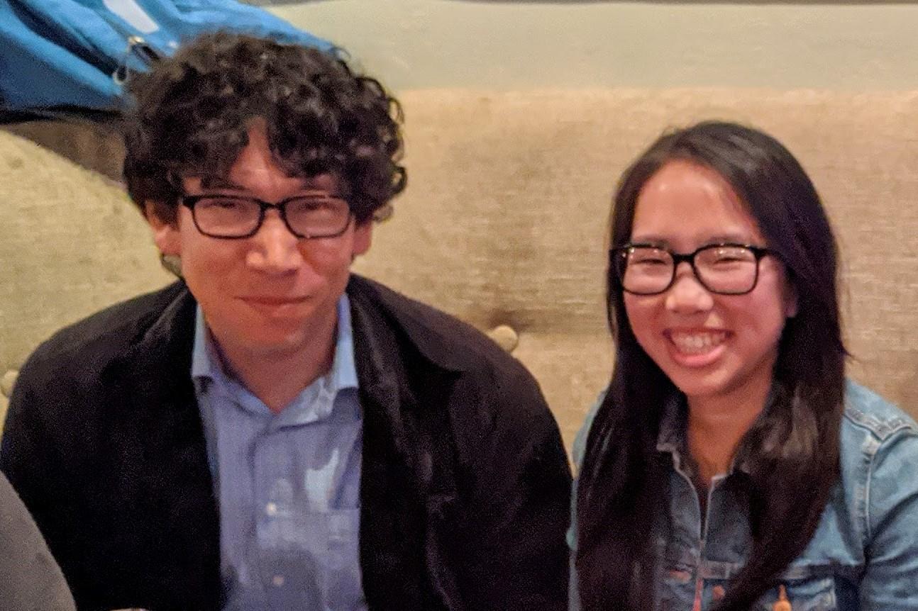 Dr. Allard and Trini